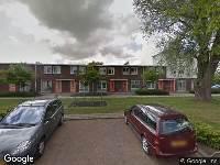 Brandweer naar Koerierstersespel in Leeuwarden