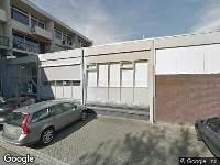 112 melding Brandweer en politie naar Langenbachstraat in Arnhem