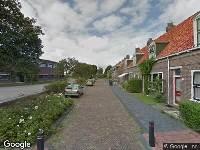 Brandweer naar Prinses Beatrixstraat in Harlingen