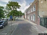 Brandweer naar Doelestraat in Leeuwarden