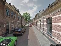 Brandweer naar Celestraat in Zwolle