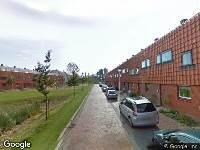 112 melding Ambulance naar Andromedastraat in Alphen aan den Rijn
