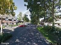 Brandweer naar Hoenderberg in Amersfoort
