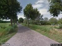 112 melding Brandweer naar Rietdijk in Breda