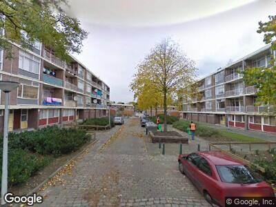 Ambulance naar Hontenissestraat in Rotterdam