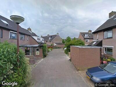 Ambulance naar Brandgansstraat in Alkmaar vanwege brand