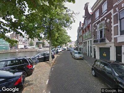 Ambulance naar Spaarne in Haarlem