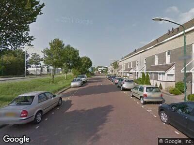 Ambulance naar Nachtegaallaan in Rijswijk