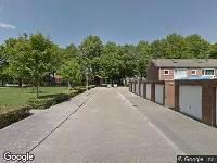 Ambulance naar Bartokstraat in Tilburg