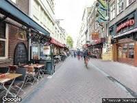 112 melding Traumahelikopter naar Korte Leidsedwarsstraat in Amsterdam