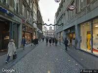 112 melding Brandweer naar Grote Staat in Maastricht vanwege verkeersongeval