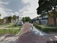 112 melding Ambulance naar Hudsonlaan in 's-Hertogenbosch