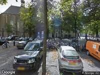 Ambulance naar Janskerkhof in Utrecht