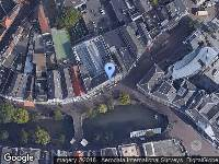 Ambulance naar Oude Gracht in Utrecht