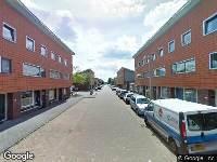 112 melding Brandweer naar Pepermuntstraat in Utrecht