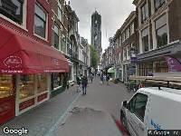 112 melding Brandweer naar Zadelstraat in Utrecht