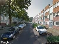 112 melding Brandweer naar Topaaslaan in Utrecht vanwege een buitenbrand
