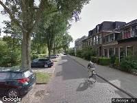 Ambulance naar Rijn en Schiekade in Leiden