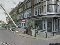 Ambulance naar Prinsestraat in 's-Gravenhage