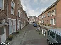 Ambulance naar Bronkhorststraat in Leiden