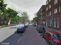 Brandweer naar Willem Beukelszstraat in Rotterdam vanwege een liftopsluiting