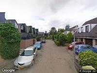 112 melding Ambulance naar Terborchdreef in Oud-Beijerland
