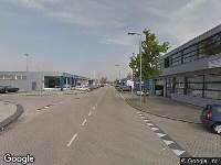Traumahelikopter naar Strickledeweg in Rotterdam