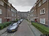 Brandweer naar Theseusstraat in Amsterdam vanwege brand