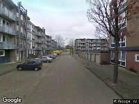 112 melding Brandweer naar Leendert Sinnemastraat in Leeuwarden vanwege verkeersongeval
