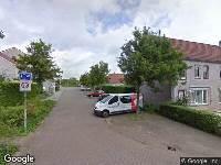 112 melding Brandweer naar Van Kuynremarke in Zwolle vanwege waarnemen gaslucht