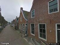 Brandweer naar Eegracht in IJlst
