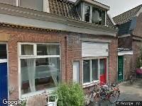 Ambulance naar Frederikastraat in Utrecht
