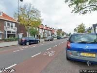 Traumahelikopter naar Marnixstraat in Haarlem