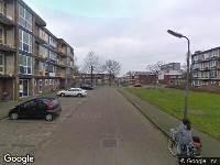 112 melding Brandweer naar Victoriestraat in Leeuwarden