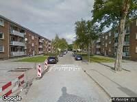 Ambulance naar Bruinissestraat in Rotterdam