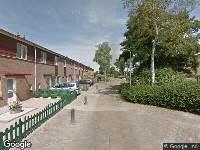 Brandweer naar Trompstraat in Hoogeveen vanwege een buitenbrand