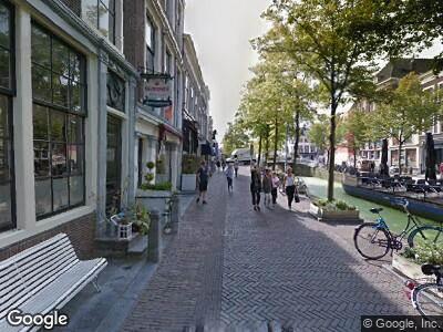 Ambulance naar Oude Delft in Delft