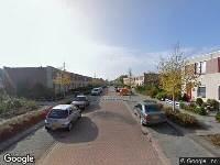 112 melding Brandweer naar Caprastraat in Almere