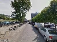 112 melding Ambulance naar Schiestraat in Rotterdam