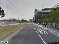 112 melding Brandweer naar Strawinskylaan in Amsterdam vanwege brand