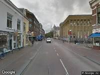 112 melding Brandweer naar Nobelstraat in Utrecht vanwege een buitenbrand