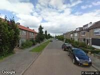 112 melding Besteld ambulance vervoer naar Bernhardstraat in Numansdorp