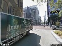 112 melding Ambulance naar Delftseplein in Rotterdam
