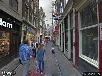 112 melding Ambulance naar Lange Niezel in Amsterdam