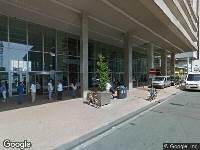 112 melding Ambulance en brandweer naar Wilhelminakade in Rotterdam