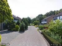 Brandweer naar De Rietgans in Hoogeveen vanwege een buitenbrand