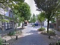 112 melding Brandweer en politie naar Prinsessestraat in Arnhem