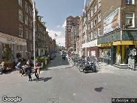 Ambulance naar Tollensstraat in Amsterdam