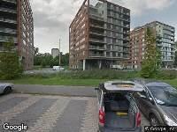 112 melding Brandweer naar Neptunuskade in Leiden vanwege brand