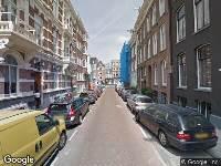 112 melding Besteld ambulance vervoer naar Anna van den Vondelstraat in Amsterdam